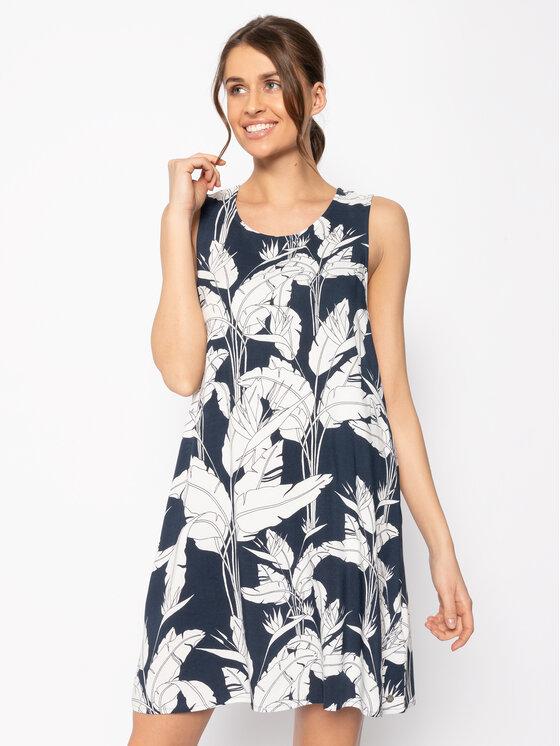 Roxy Roxy Vasarinė suknelė Tranquility Vibes ERJWD03410 Tamsiai mėlyna Regular Fit