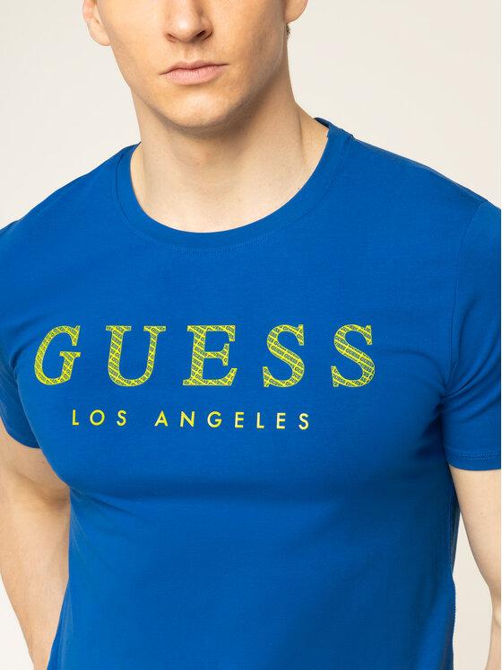 Guess Guess Tričko M01I54 J1300 Tmavomodrá Regular Fit