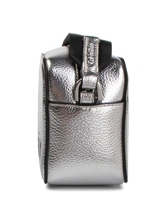 Calvin Klein Calvin Klein Geantă Edged Camera Bag Met K60K605277 Argintiu