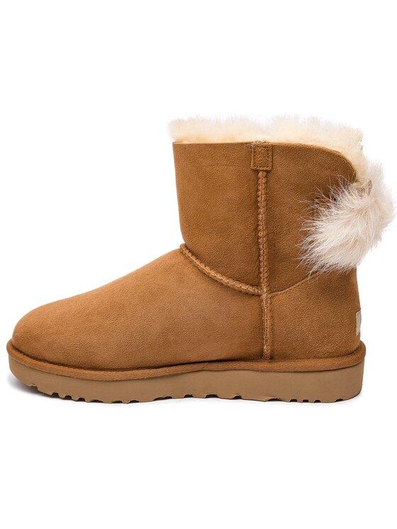Ugg Ugg Обувки W Fluff Bow Mini 1094967 Кафяв