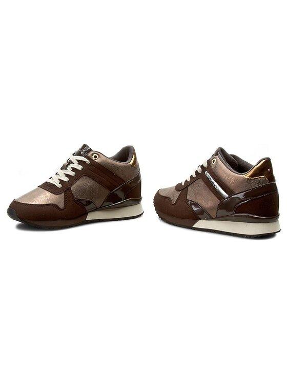 Tommy Hilfiger Tommy Hilfiger Sneakersy Sady 13C2 FW56821999 Brązowy