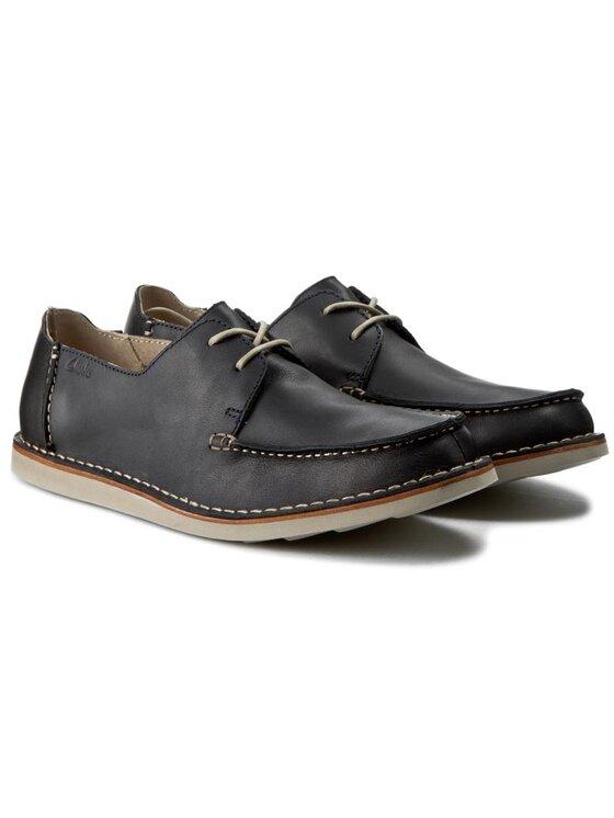 Clarks Clarks Pantofi Brinton Edge 261139647 Bleumarin