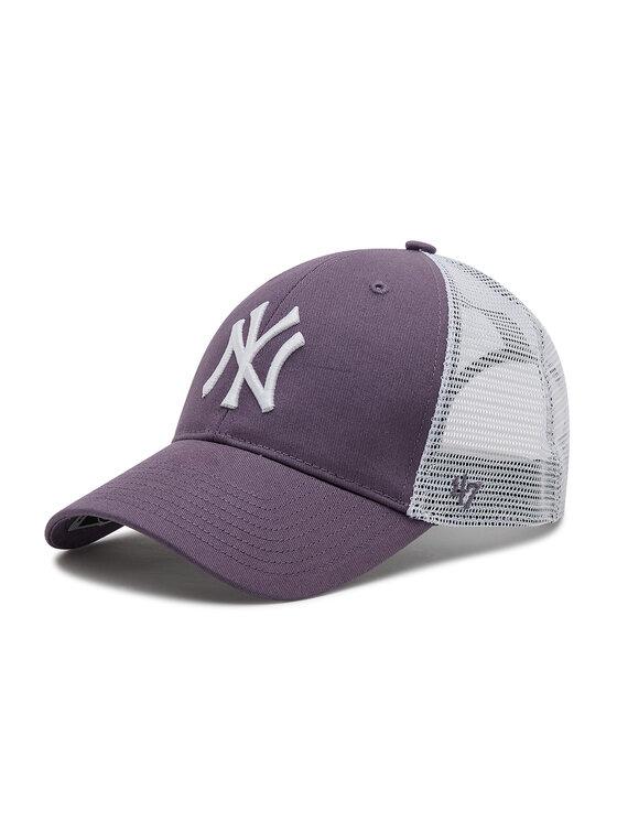 47 Brand Kepurė su snapeliu Ny Yankees Branson Trucker B-FLGSH17GWP-II Violetinė