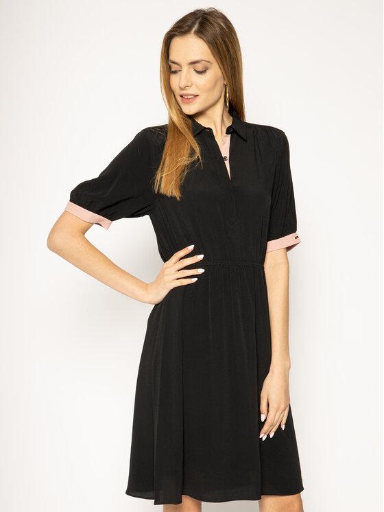 Calvin Klein Kleid für den Alltag Elastic Waist K20K201896 ...