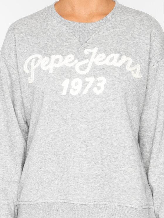 Pepe Jeans Pepe Jeans Mikina Nanete PL580864 Šedá Regular Fit
