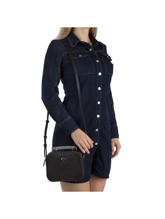 Tommy Hilfiger Tommy Hilfiger Táska Th Core Crossover AW0AW05653 Fekete