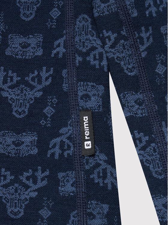 Reima Reima Komplet bielizny termoaktywnej Taival 536434 Granatowy Slim Fit