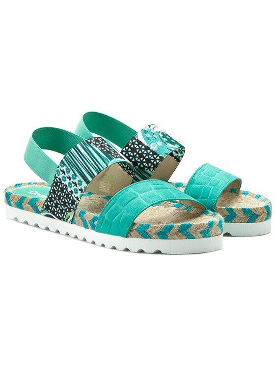 Desigual Desigual Espadrile Shoes Bio Formentera 61SS2D4/5024 Verde