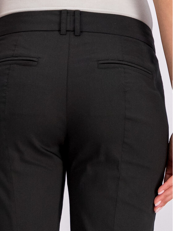 Patrizia Pepe Patrizia Pepe Текстилни панталони BP0674/A23-K103 Черен Regular Fit