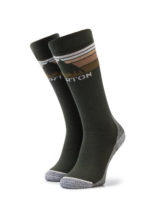 Burton Ilgos Vyriškos Kojinės M Emblem Mdwt Sk 10068106300 Žalia