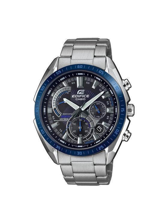 Casio Laikrodis Edifice EFR-570DB-1BVUEF Sidabrinė