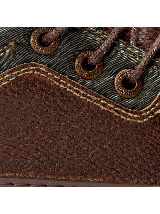 Napapijri Napapijri Sneakersy Jakob 13831477 Brązowy