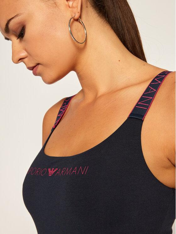 Emporio Armani Underwear Emporio Armani Underwear Top 164237 0A317 00637 Tmavomodrá Slim Fit