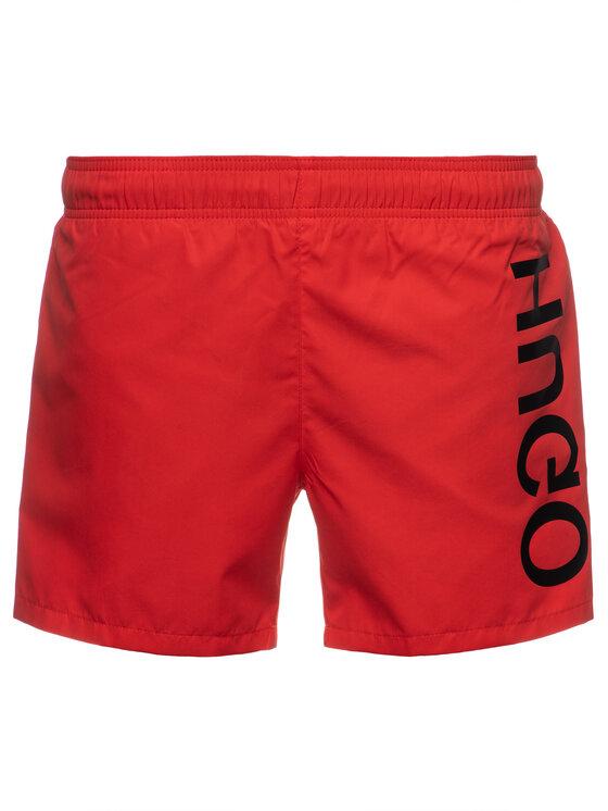 Hugo Hugo Pantaloni scurți pentru înot 50409687 Roșu Regular Fit