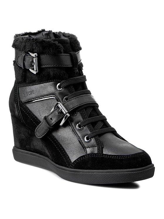 Geox Geox Laisvalaikio batai D Eleni D D5467D 04322 C9999 Juoda