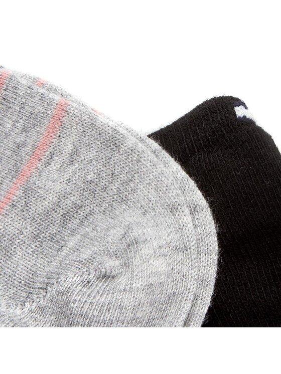 Tommy Hilfiger Tommy Hilfiger Set di 2 paia di calzini corti da donna 363011001 Nero