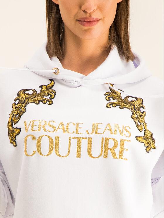 Versace Jeans Couture Versace Jeans Couture Rochie tricotată B6HUB782 Alb Regular Fit