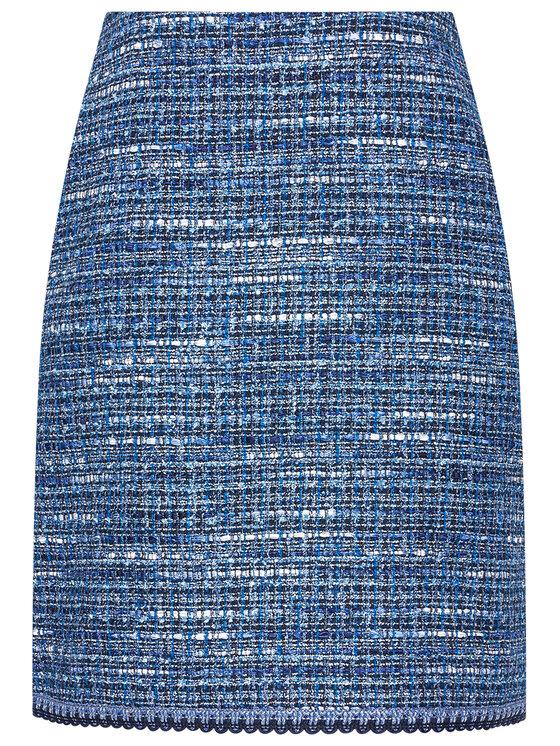 Luisa Spagnoli Luisa Spagnoli Spódnica trapezowa Tandem 3651 Niebieski Regular Fit