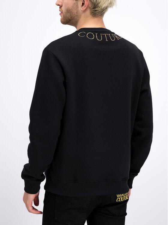Versace Jeans Couture Versace Jeans Couture Суитшърт B7GUA710 Черен Regular Fit