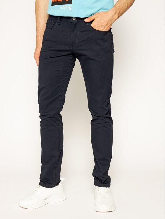 Armani Exchange Spodnie materiałowe 8NZJ13 ZN88Z 1510 Granatowy Slim Fit
