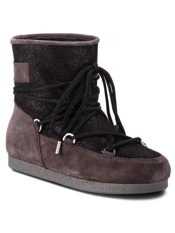 Moon Boot Sniego batai F.Side Low Suede Gl. 24200200002 Juoda