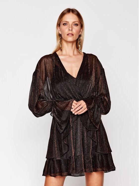IRO Kokteilinė suknelė Rolianad WM33 Auksinė Regular Fit