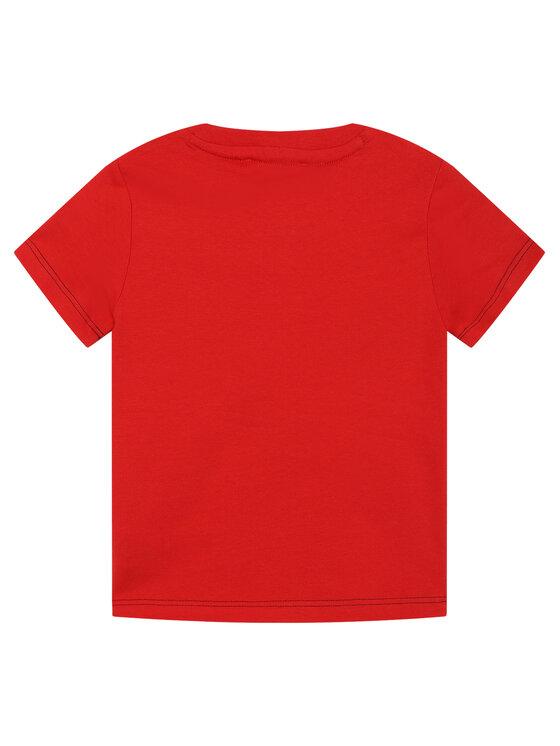 Little Marc Jacobs Little Marc Jacobs T-Shirt W25414 Czerwony Regular Fit