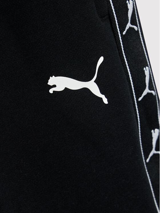 Puma Puma Dres Full Zip Sweat Suit 585732 Biały Regular Fit