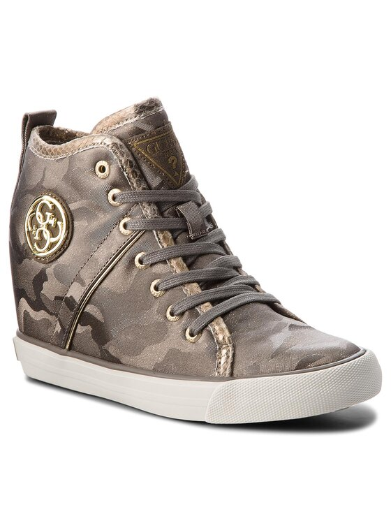 Guess Guess Sneakers FLJLY3 FAB12 Marrone