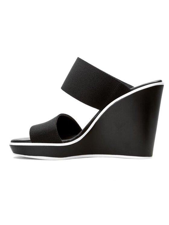 Calvin Klein Calvin Klein Παντόφλες Kenya Elastic N11673 Μαύρο