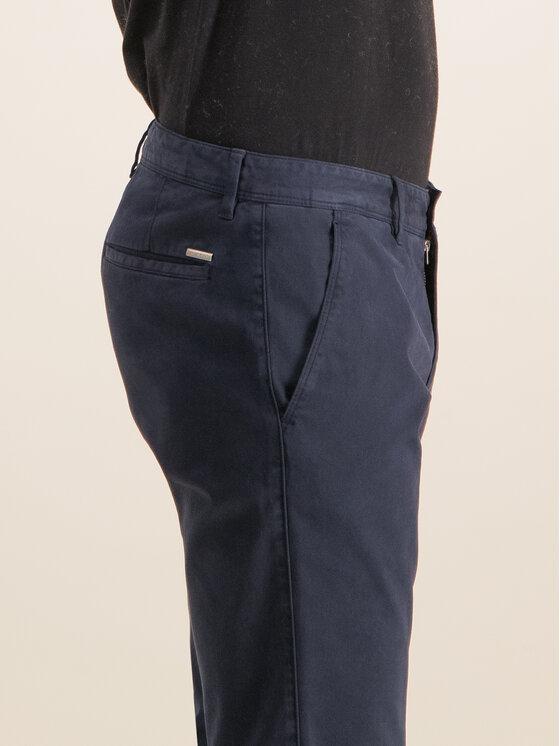 Roy Robson Roy Robson Текстилни панталони 941-51 Тъмносин Slim Fit