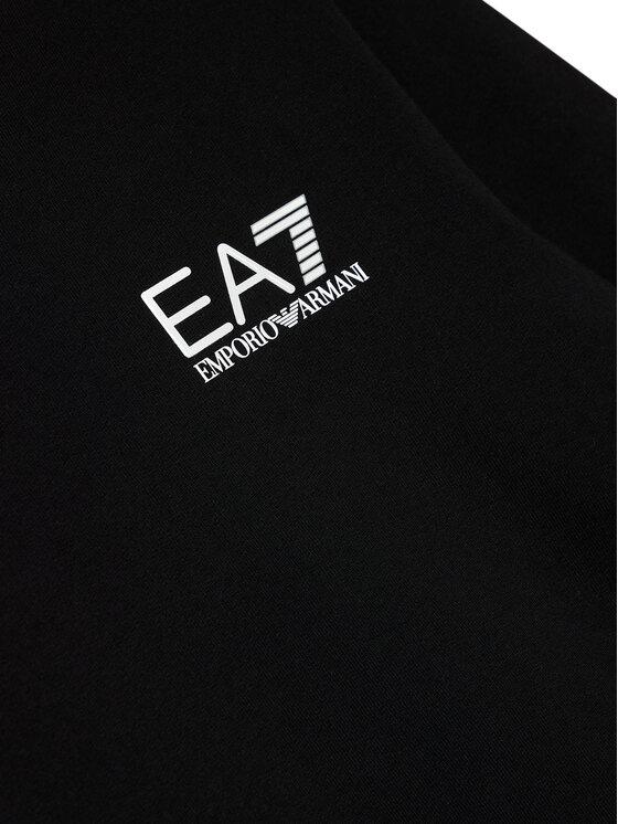 EA7 Emporio Armani EA7 Emporio Armani Bluza 6KBM51 BJ05Z 1200 Czarny Regular Fit