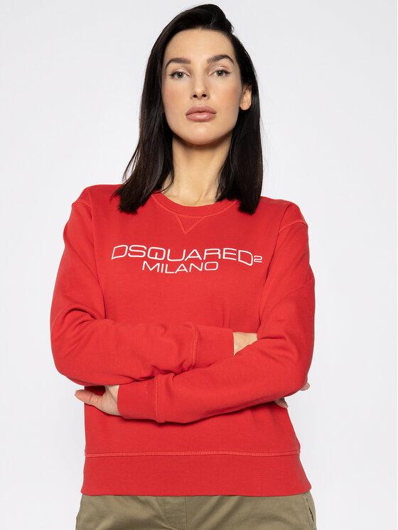 Dsquared2 Džemperis Milano S75GU0277 Raudona Regular Fit