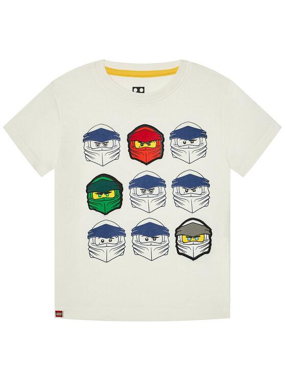 LEGO Wear Marškinėliai 12010022 Balta Regular Fit