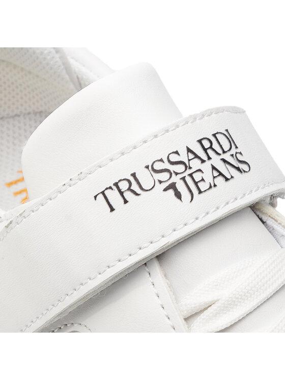 Trussardi Jeans Trussardi Jeans Sneakersy 79A00316 Biela