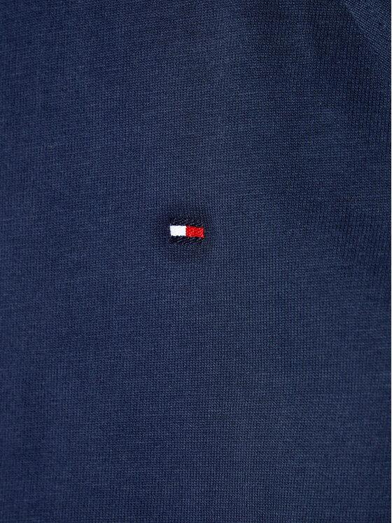 Tommy Hilfiger Tommy Hilfiger Bluza Tape Hoodie KB0KB06136 D Granatowy Regular Fit