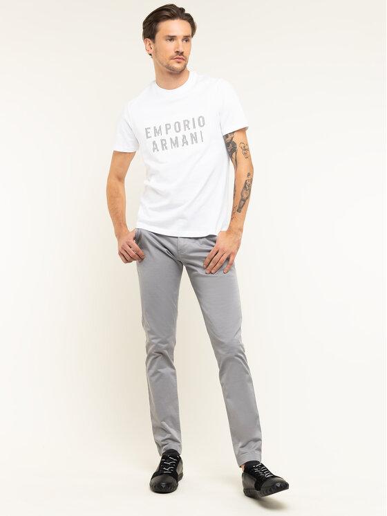 Emporio Armani Emporio Armani T-Shirt 3H1TB7 1J30Z 0102 Weiß Regular Fit