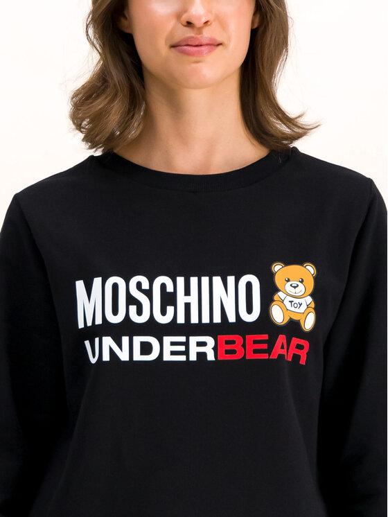 MOSCHINO Underwear & Swim MOSCHINO Underwear & Swim Vestito di maglia A1714 9001 Nero Regular Fit