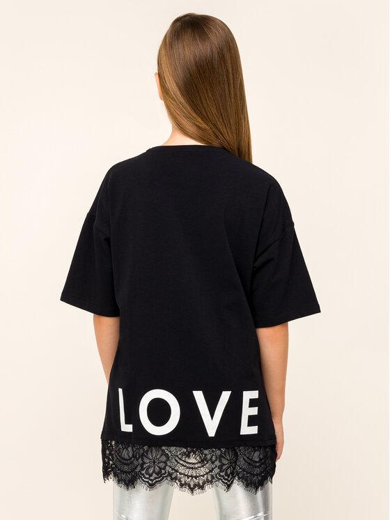 Guess Guess T-shirt J93I09 K82K0 Nero Oversize