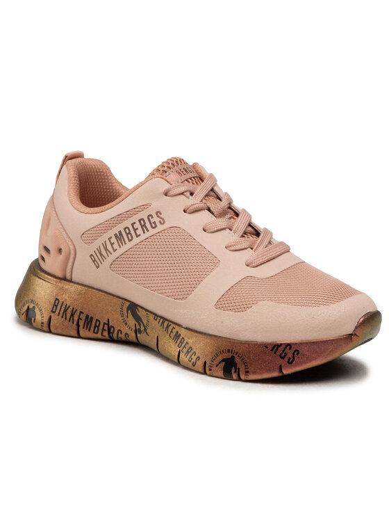Bikkembergs Laisvalaikio batai Low Top Lace Up B4BKW0166 Rožinė