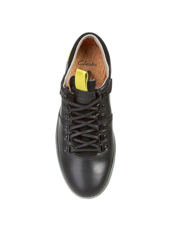 Clarks Clarks Κλειστά παπούτσια Nanu Mix GTX 261043767 Μαύρο