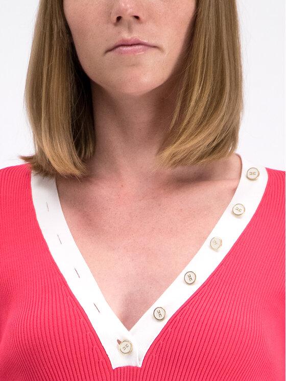 Elisabetta Franchi Elisabetta Franchi Rochie tricotată AM-34B-92E2-V190 Roz Slim Fit