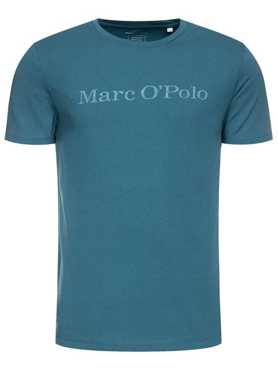 Marc O'Polo Marc O'Polo T-Shirt 927 2220 51230 Modrá Regular Fit