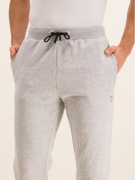 Guess Guess Teplákové nohavice U01Q01 FL038 Sivá Regular Fit