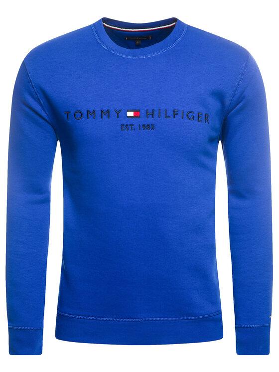 Tommy Hilfiger Tommy Hilfiger Sweatshirt Blend MW0MW11596 Dunkelblau Regular Fit