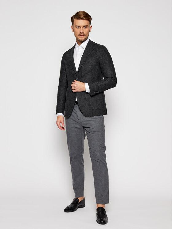 Eton Eton Marškiniai 100000057 Balta Slim Fit