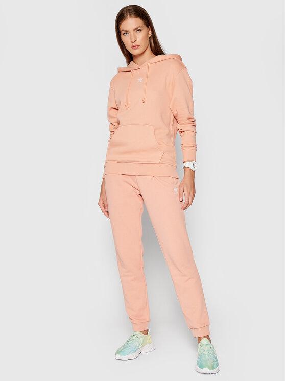 adidas adidas Majica dugih rukava adicolor Essentials H06620 Ružičasta Regular Fit