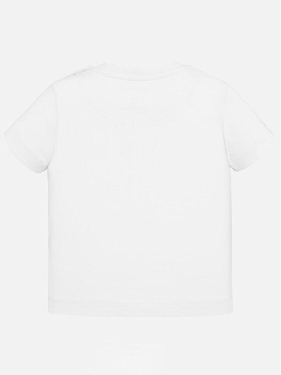 Mayoral Mayoral T-Shirt 1043 Bílá Regular Fit