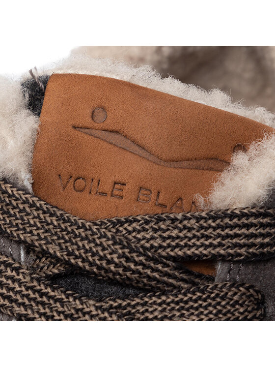Voile Blanche Voile Blanche Sneakersy Liam Race Fur 0012014155.01.1B63 Szary