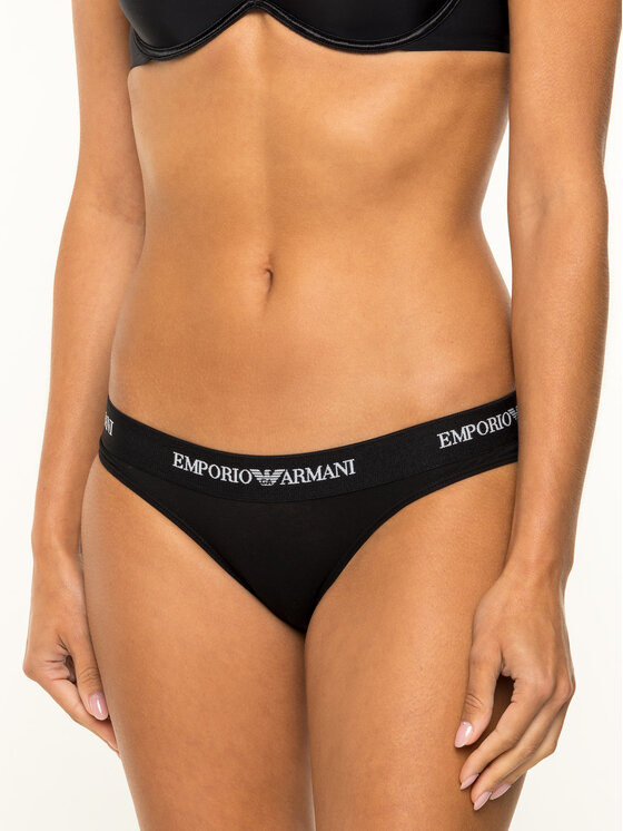 Emporio Armani Underwear Emporio Armani Underwear Klassischer Damenslip 162525 CC317 00020 Schwarz